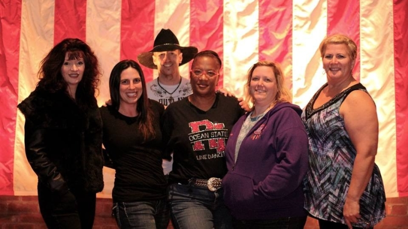 2016 Get in Line RI line dance event instructors